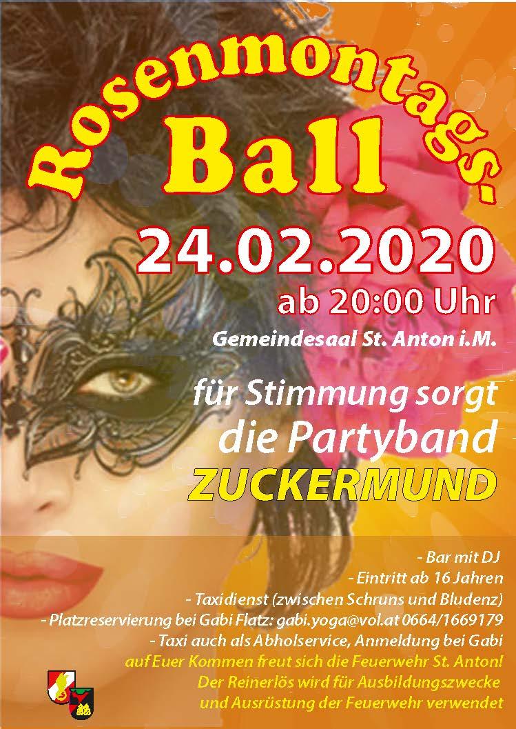 Rosenmontagsball 24.02.2020